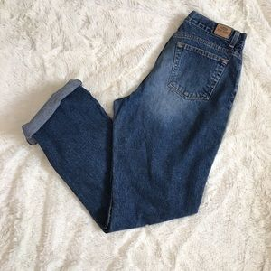 High Rise Mom Jeans 14 Long Old Navy
